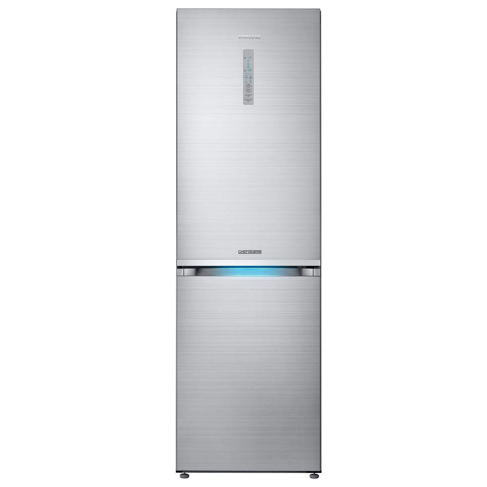 Samsung Chef Collection 24 in. W 12 cu. ft. Bottom Freezer ...