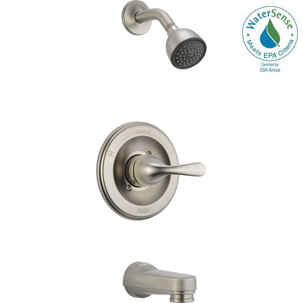 Delta Classic Single Handle 1 Spray Tub And Shower Faucet In