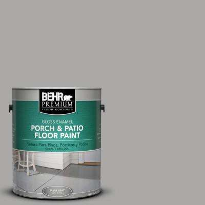 1 gal. #PFC-68 Silver Gray Gloss Porch and Patio Floor Paint
