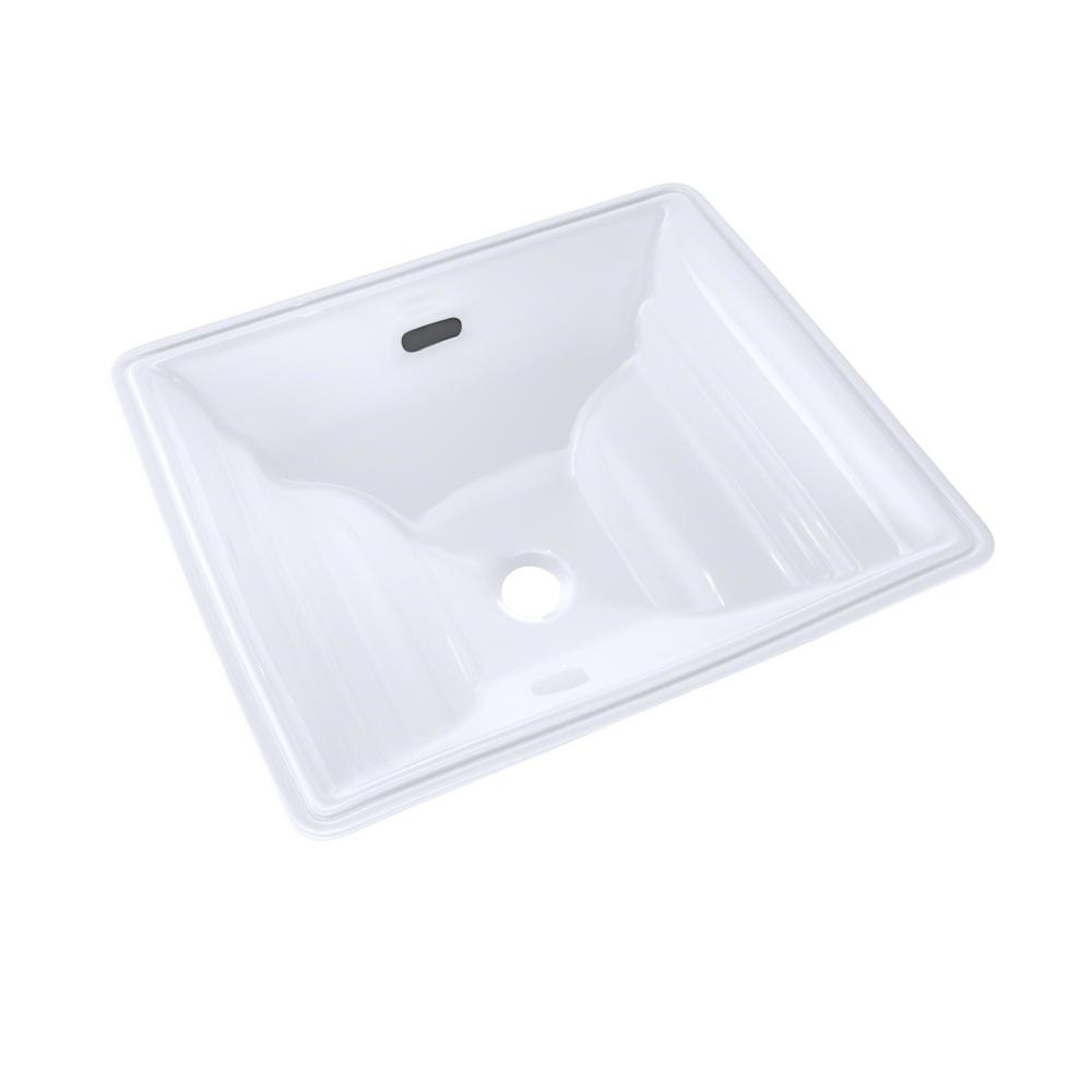 Toto Aimes 17 In Undermount Bathroom Sink With Cefiontect