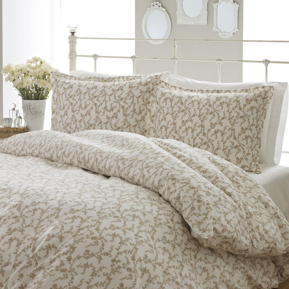 Victoria Brown 3-Piece King Comforter Set