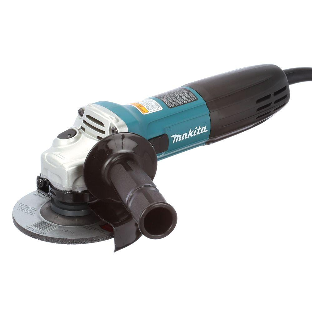 Makita GA4530 115 mm 720 W 240 V Slim Angle Grinder
