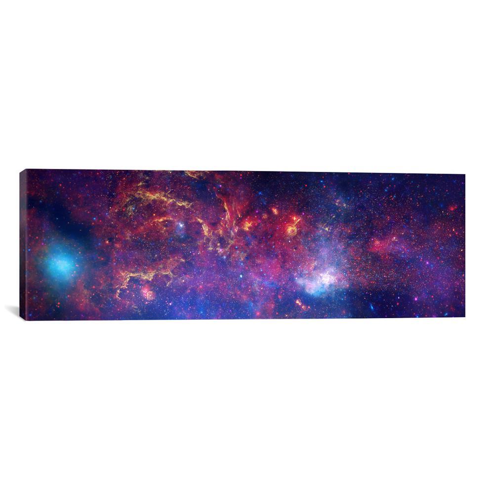"""Center of the Milky Way Galaxy (Chandra/Hubble/Spitzer)"" by NASA Canvas Wall Art"