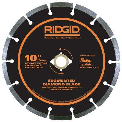 10 in. Segmented Diamond Blade