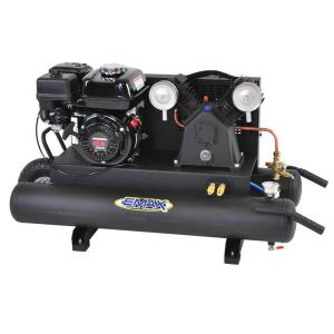 EMAX 10 gal. 6.5 HP 4-Cycle Portable Gas Wheelbarrow Air Compressor with Honda... by EMAX