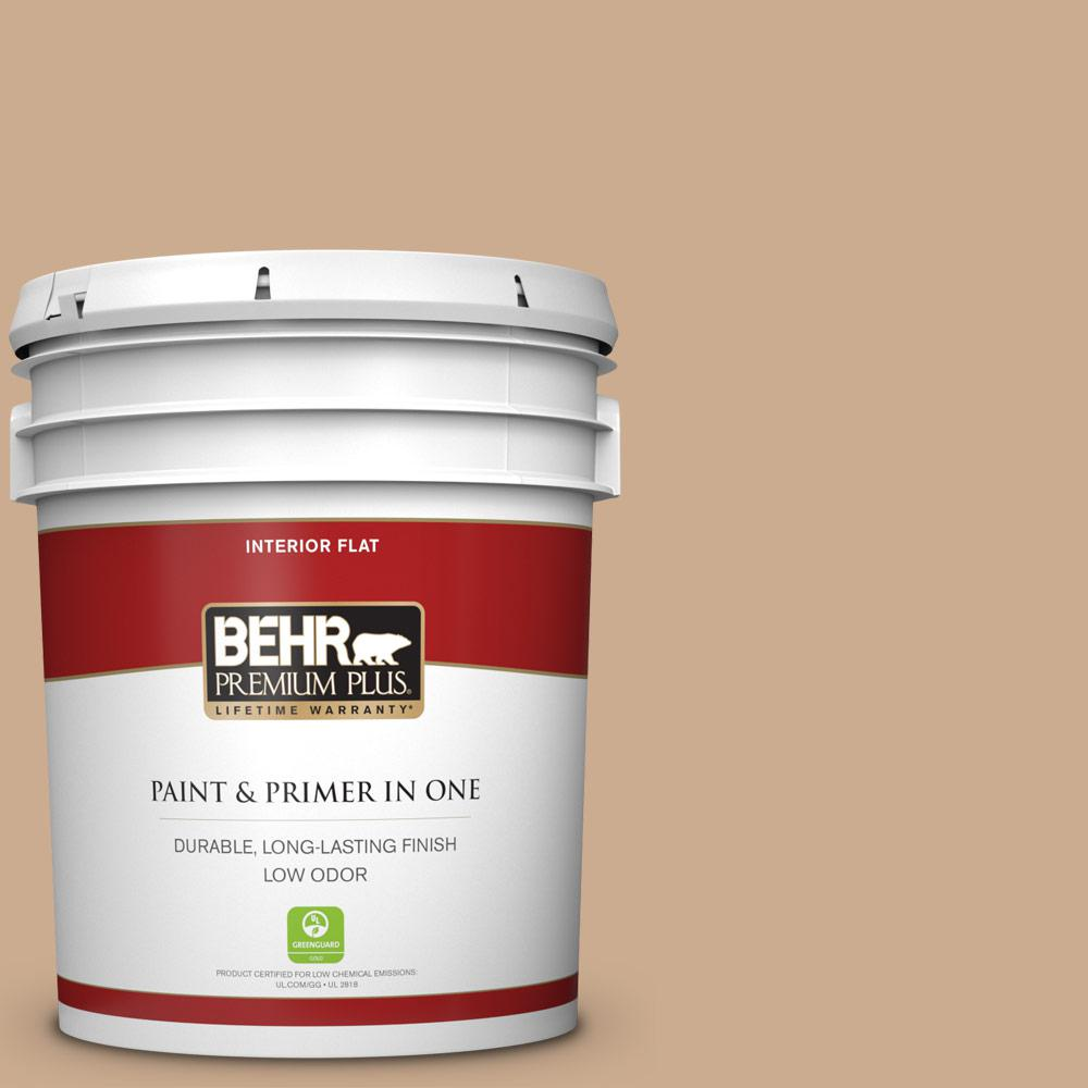 Behr Premium Plus 5 Gal N250 3 Pottery Wheel Flat Low O
