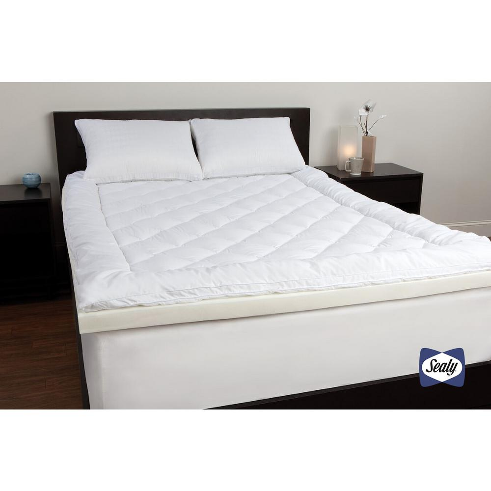 Sealy King Memory Foam Mattress Topper F02 00035 Kg0 The