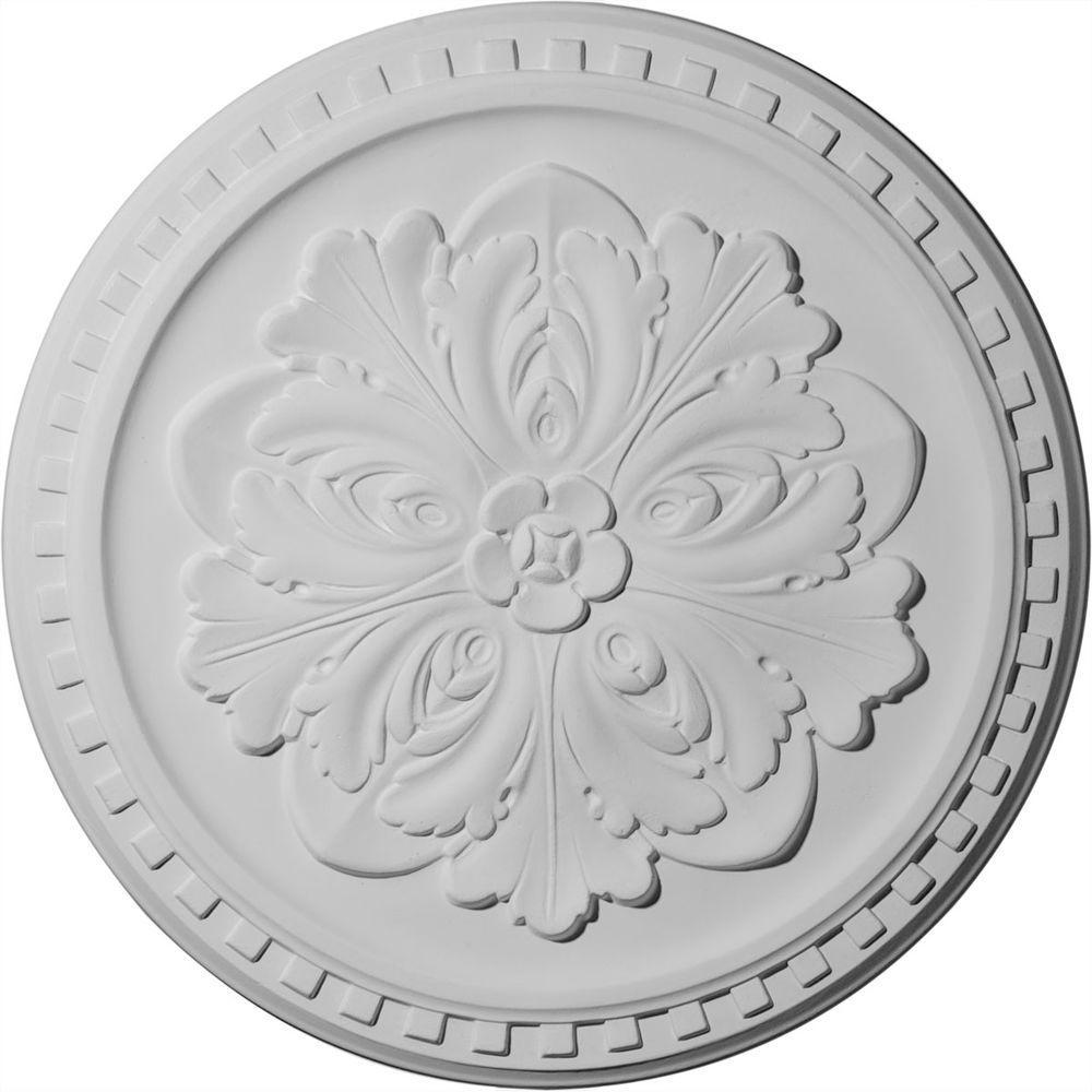 Ekena Millwork 16-7/8 in. Emeryville Ceiling Medallion