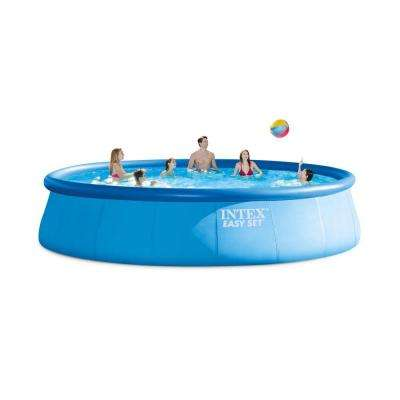 18 ft. Round x 48 in. Deep Easy Above Ground Pool Set