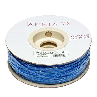 Value-Line 1.75 mm Blue ABS Plastic 3D Printer Filament (1kg)