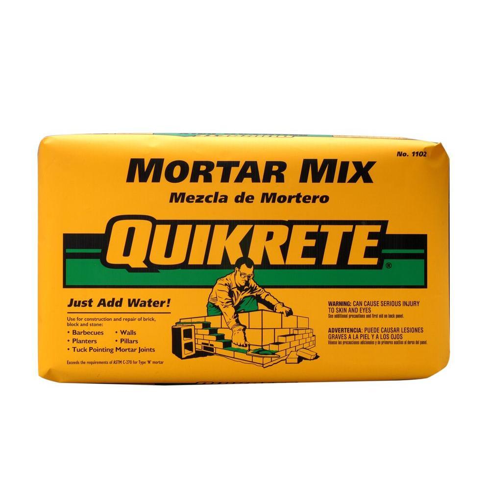 Quikrete 80 Lb Mortar Mix