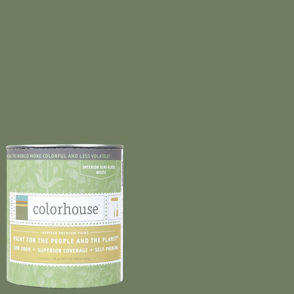 1 qt. Glass .05 Semi-Gloss Interior Paint
