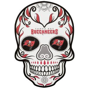 NFL Tampa Bay Buccaneers Outdoor Skull Graphic- Small