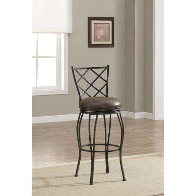 Ava 26 in. Coco Cushioned Bar Stool