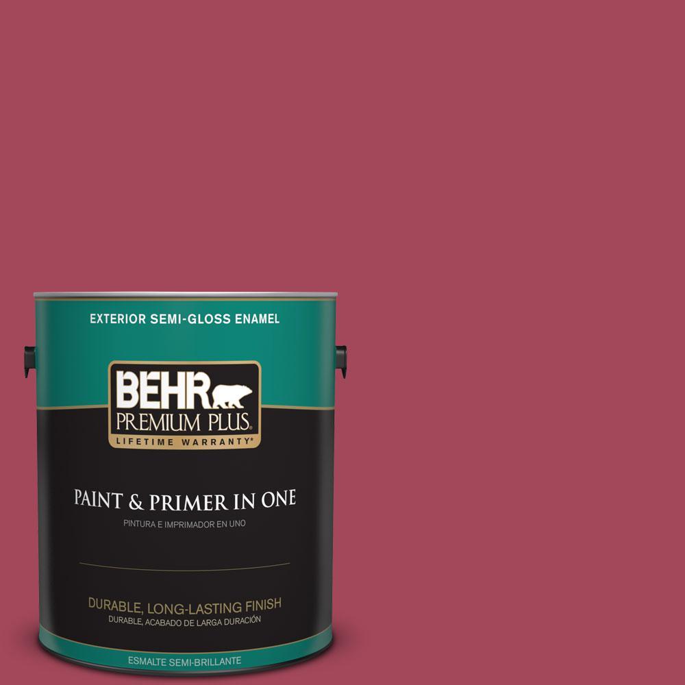1-gal. #130D-6 Sweet Spiceberry Semi-Gloss Enamel Exterior Paint