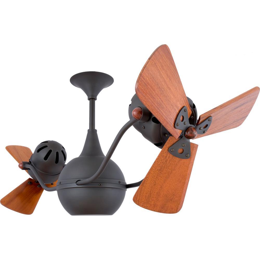 Ralston 44 in. 6-Blade Bronze Ceiling Fan