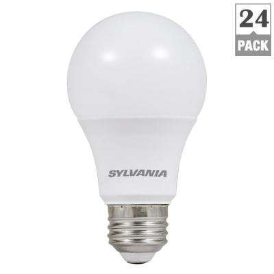 Contemporary 60W Equivalent Soft White A19 Non Dim LED Light Bulb 24 Pack Luxury - Simple Elegant 24 fluorescent light fixture HD