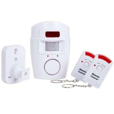 Wireless Motion Sensor Alarm with 2-Wireless Remotes