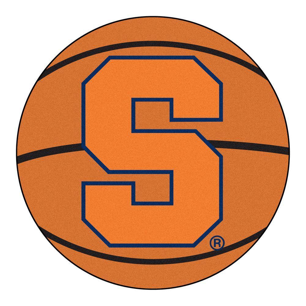 Fanmats Ncaa Syracuse University Orange 2 Ft X 2 Ft Round Area Rug