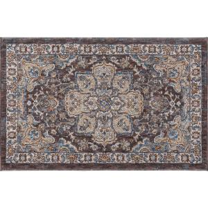 Tayse Rugs Fairview Brown 2 ft. x 3 ft. Accent Rug by Tayse Rugs