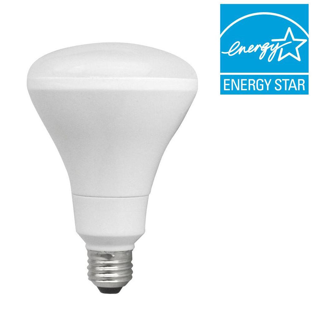 TCP 65W Equivalent Soft White (2700K) BR30 Flood LED Light Bulb (2-Pack)