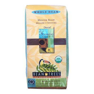12 oz. House Blend Decaf Coffee Whole Beans (3-Bags)