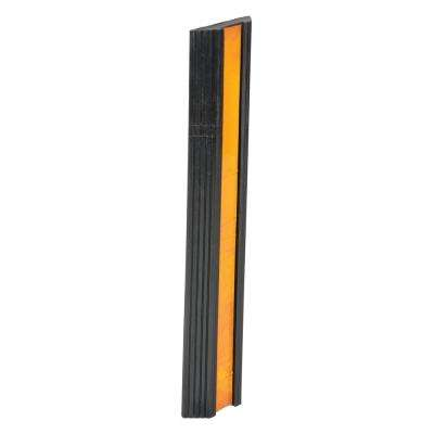 24 in. Long Extruded Rubber Bumper Stop