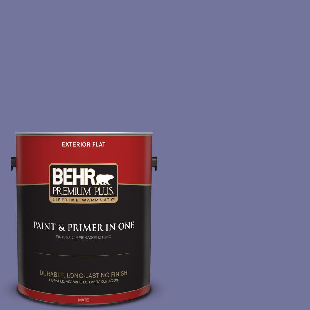 1-gal. #630D-6 Palace Purple Flat Exterior Paint