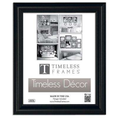 Boca 1-Opening 16 in. x 20 in. Black Picture Frame