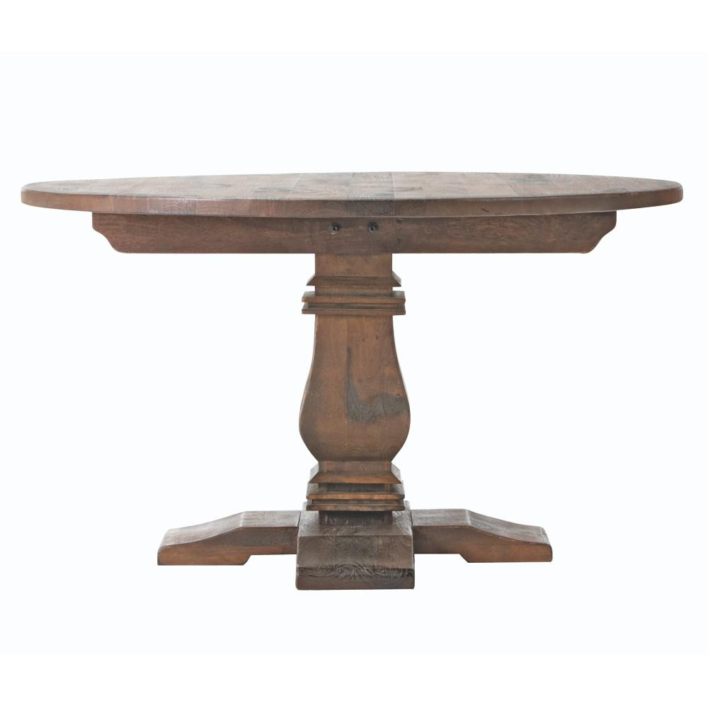 Walnut Kitchen Table: Home Decorators Collection Aldridge Antique Walnut Round