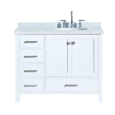 48 Inch Bathroom Vanity Top Right Side Sink Image Of Bathroom And Closet