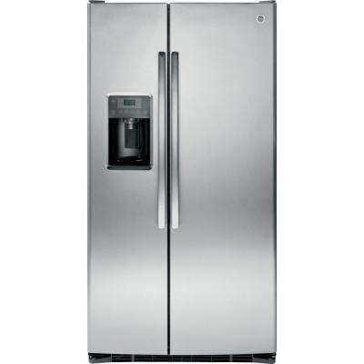 Adora 25.3 cu. ft. Side by Side Refrigerator in Stainless Steel