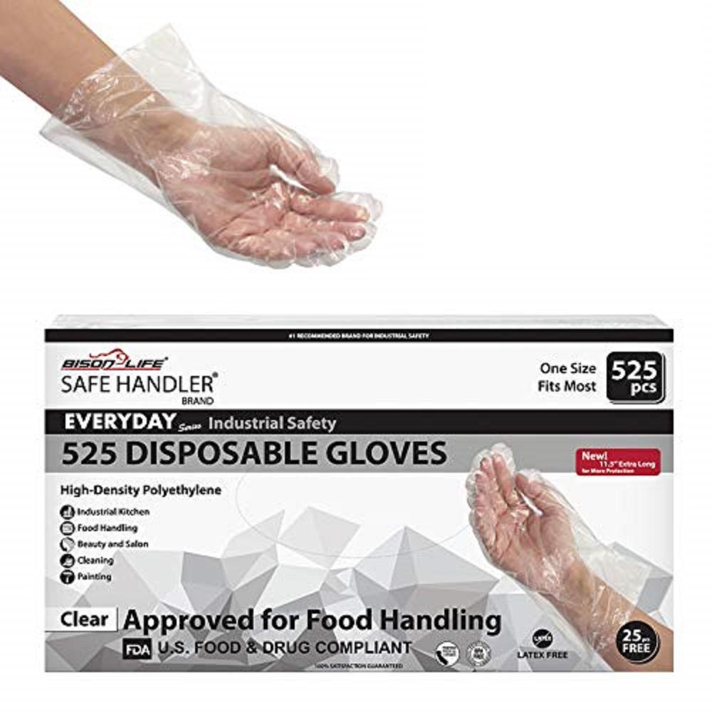 SAFE HANDLER Poly Gloves
