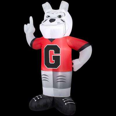 83.85 in. Inflatable Georgia Mascot Uga