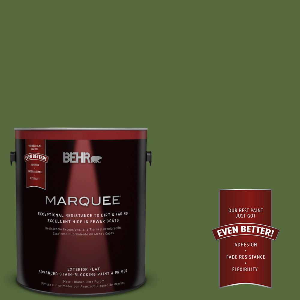 1-gal. #410D-7 Mountain Forest Flat Exterior Paint