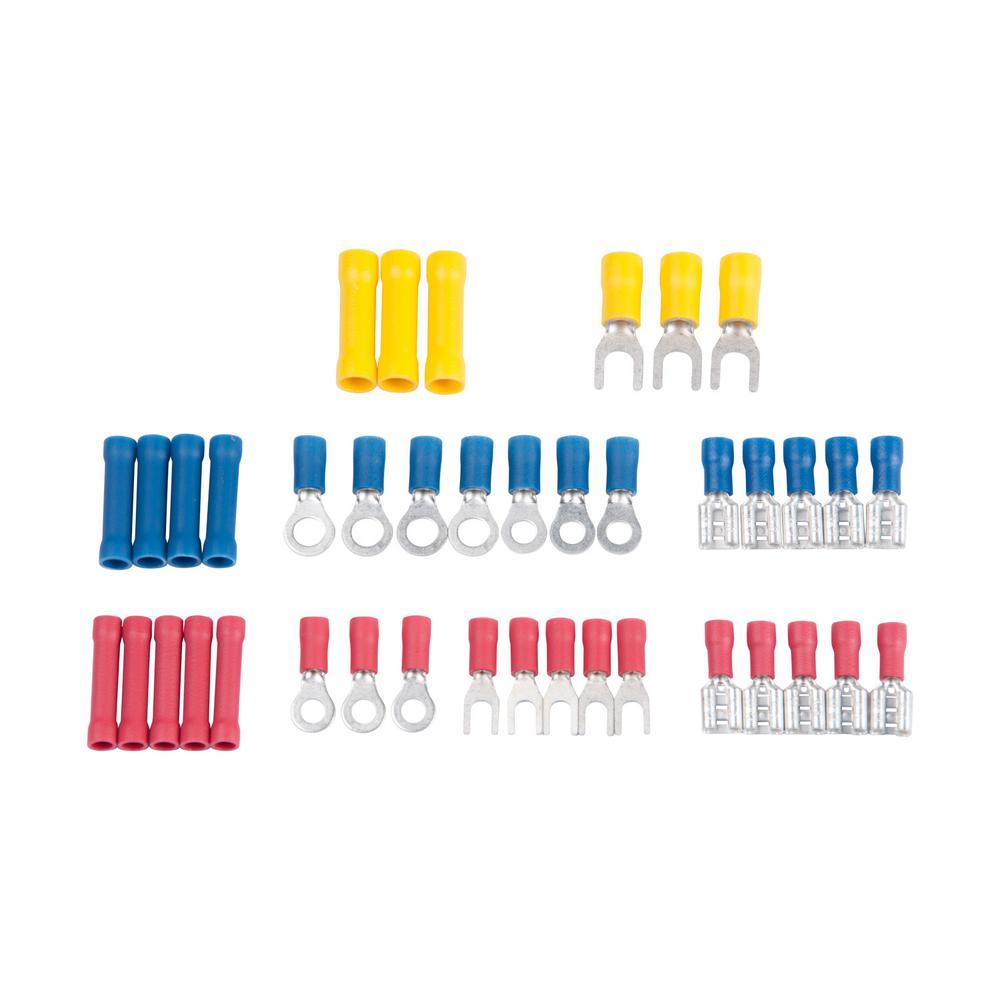 Gardner bender slide card kit with 40 assorted terminals for Gardner products