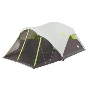 Click here to buy Coleman Steel Creek 6 Person 10 ft. x 9 ft. Fast Pitch Dome Tent with Screenroom by Coleman.