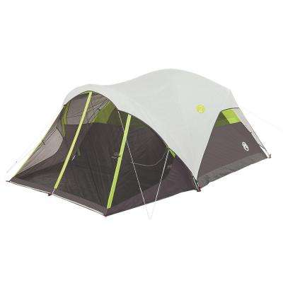 Steel Creek 6 Person 10 ft. x 9 ft. Fast Pitch Dome Tent with Screenroom