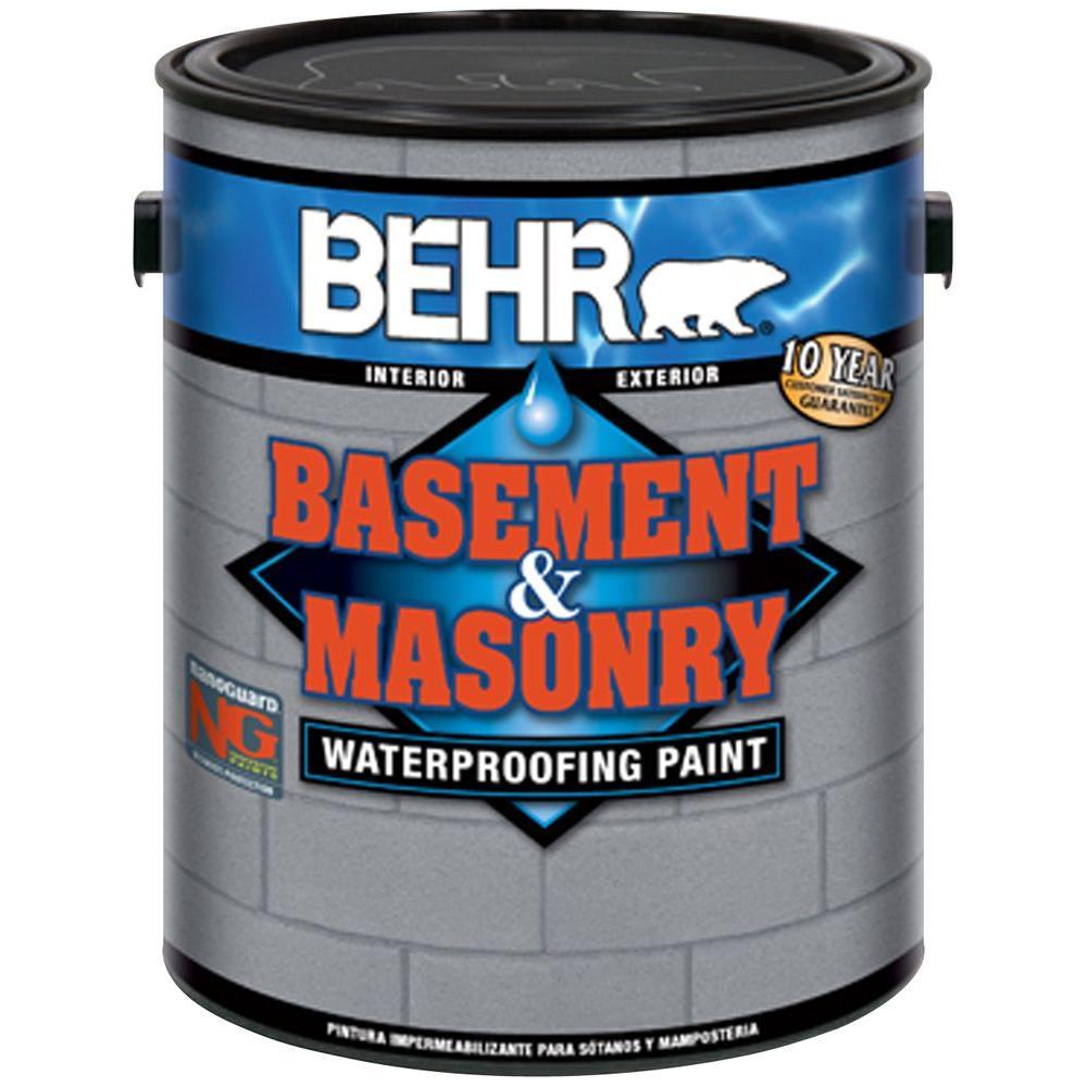 1 gal. #876 Basement Gray Basement and Masonry Waterproofer