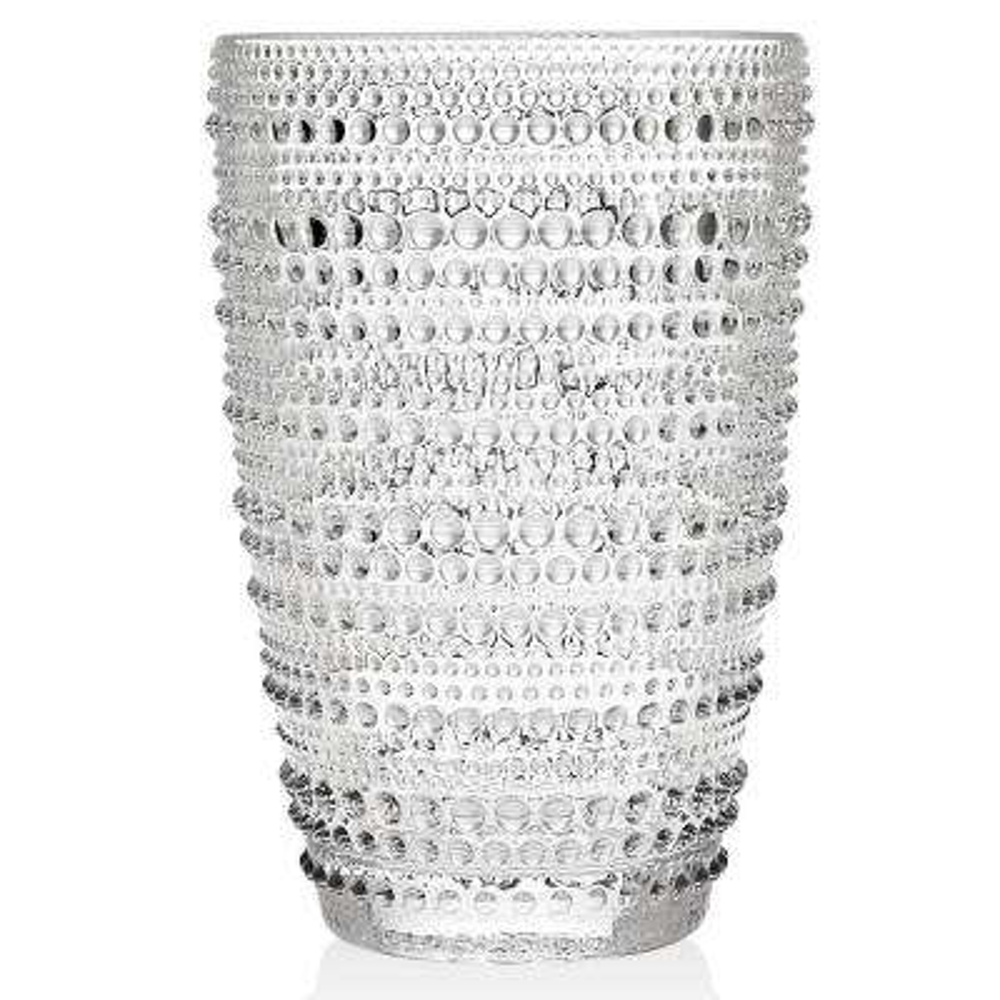 Lumina 10 oz. Clear Highball Glasses Crystal (Set of 4)