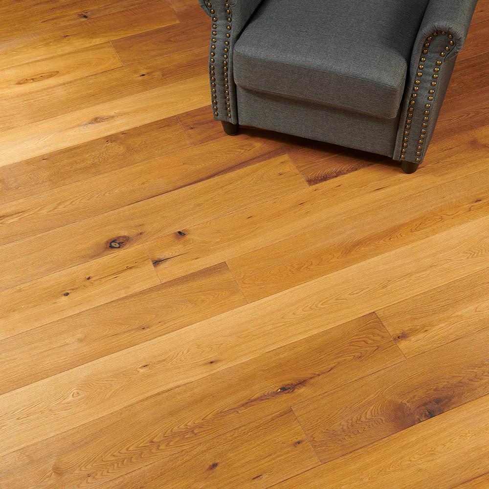 Flooors by LTL Tahoe Oak 19/32 in. Thick x 7-31/64 in. Wide x 74-51/64 in. Length Engineered Hardwood Flooring (23.31 sq. ft./case)