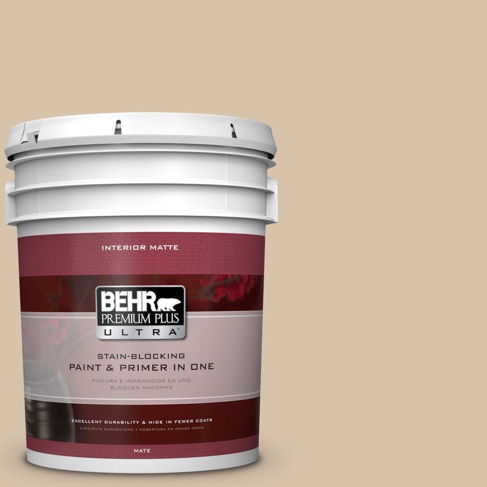BEHR Premium Plus Ultra 5 gal. #T14-13 Grand Soiree Flat/Matte Interior Paint