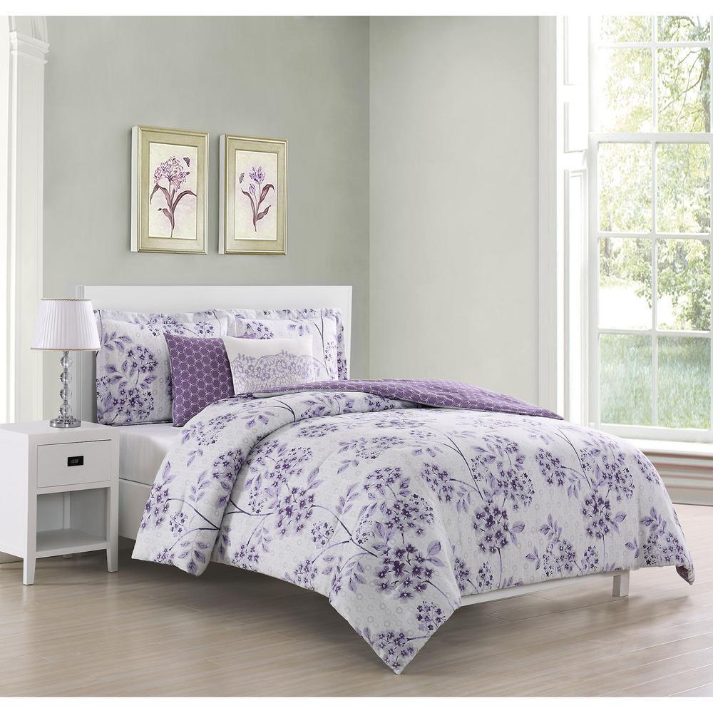 97+ Purple Queen Bedroom Sets HD
