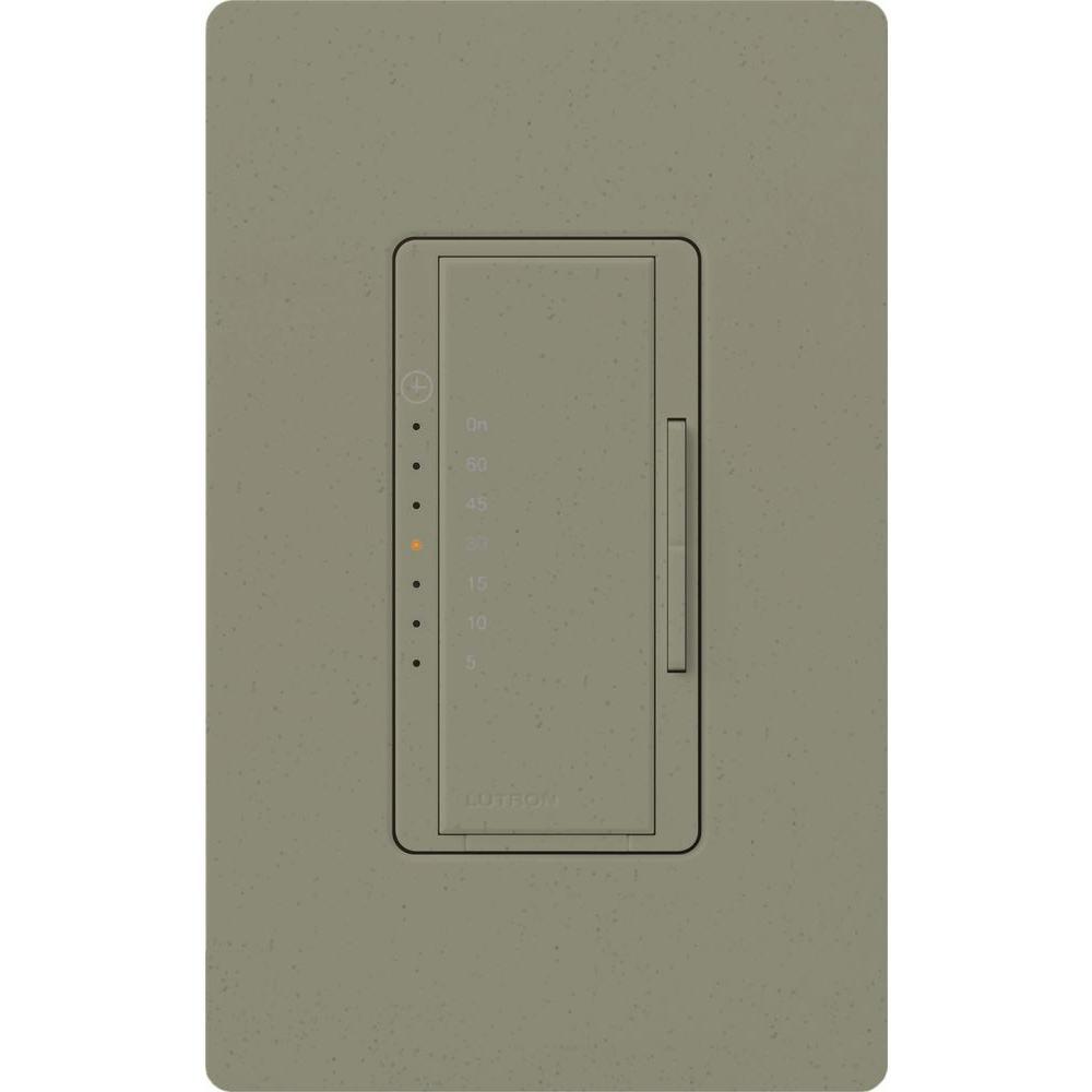 Maestro 600-Watt/VA Multi-Location/Single-Pole Countdown Timer Switch - Greenbriar
