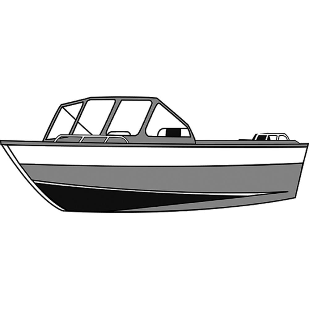Centerline 16 ft. 6 in. Styled-To-Fit Boat Cover for Aluminum Fishing