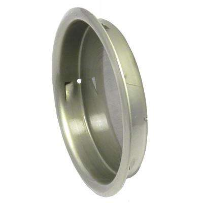 2-1/8 in. Satin Nickel Closet Door Flush Pull