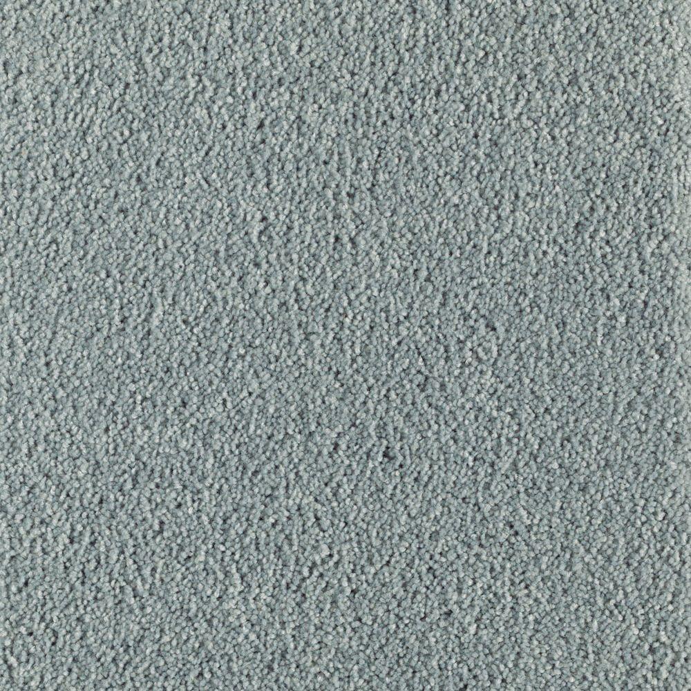 Astoria - Color Oceanfoam Texture 12 ft. Carpet