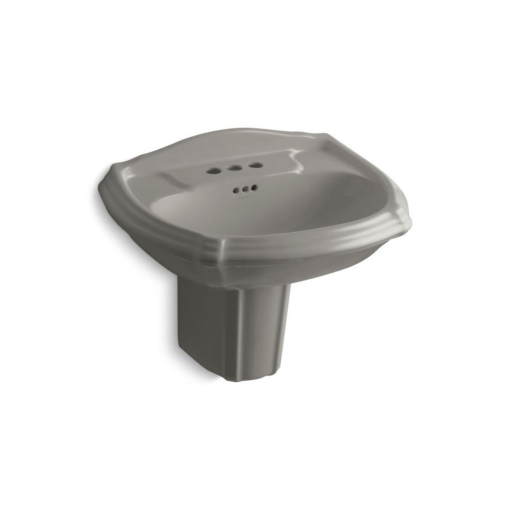 KOHLER Portrait Wall-Mount Bathroom Sink in Cashmere-DISCONTINUED