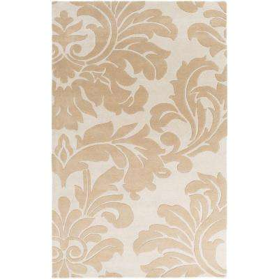 Bellaire Taupe 5 ft. x 8 ft. Indoor Area Rug