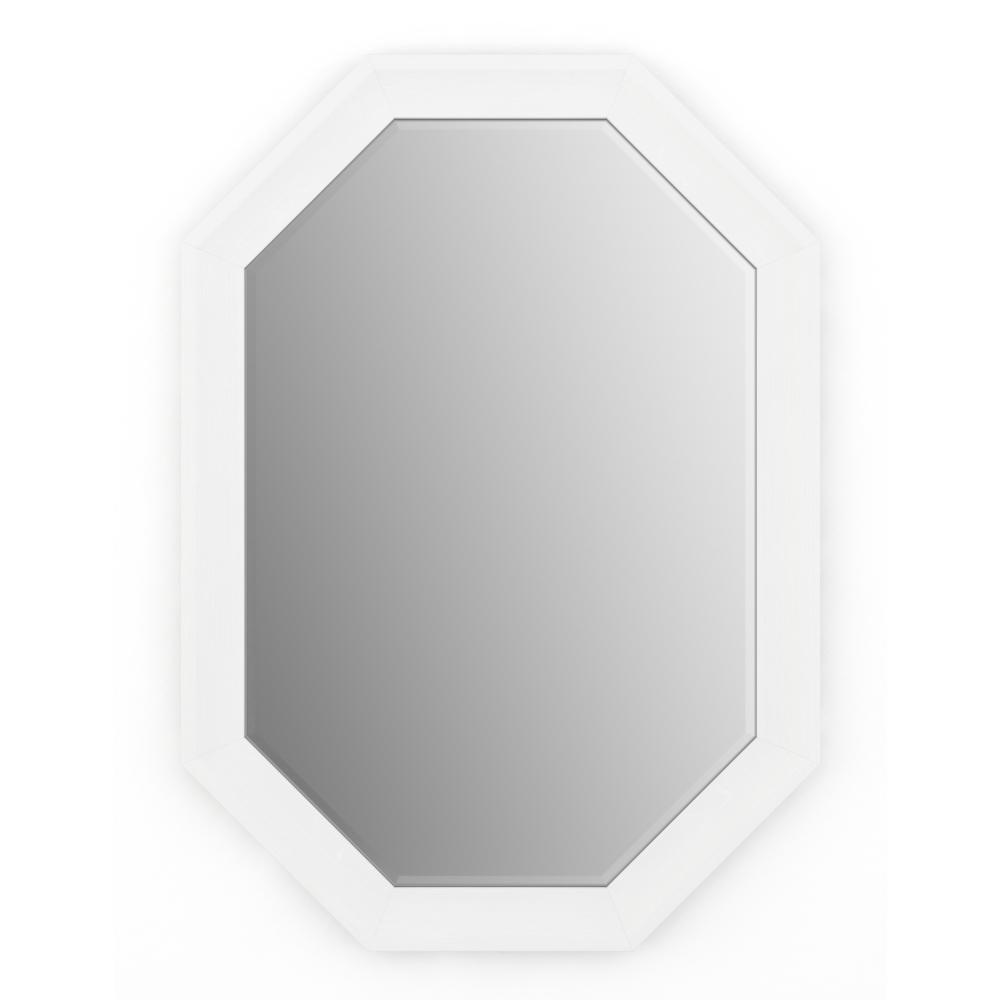 33 in. x 46 in. (L3) Octagonal Framed Mirror with Deluxe